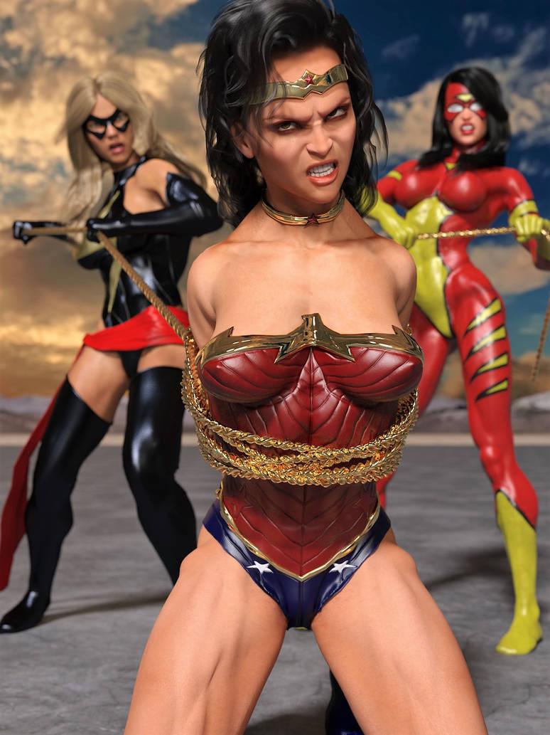 Wonder Woman Captured 2