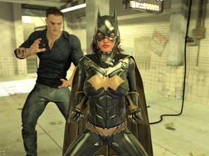 Batgirl vs Three Thugs 04