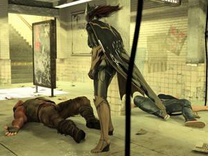 Batgirl vs Three Thugs 25