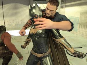 Batgirl vs Three Thugs 13