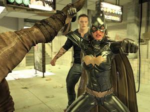 Batgirl vs Three Thugs 09