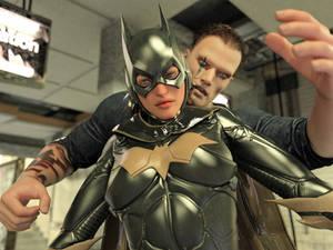 Batgirl vs Three Thugs 12
