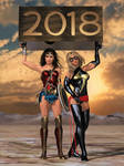 A wonderful, marvelous, happy new year 2018! by DahriAlGhul