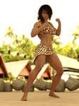Jungle Queen Zanya: ready to fight!!
