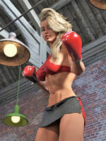 Boxing POV 8 by DahriAlGhul
