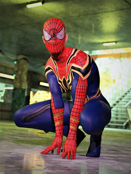 Iron Spider Girl 1