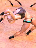 Dancer 10 and 11: alternative perspective by DahriAlGhul