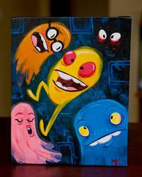 Pac Man fever by cwgabriel