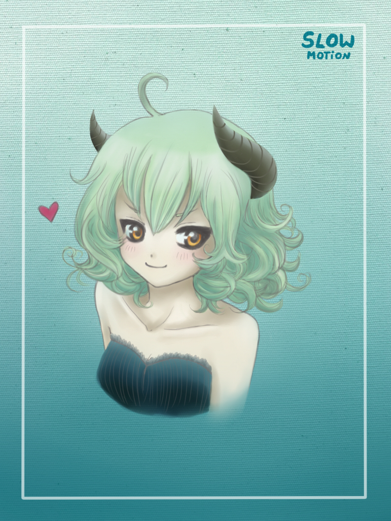 Cute Devil Girl by slowS2motion