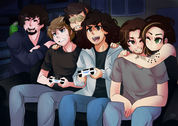 [Game Grumps] Game On!