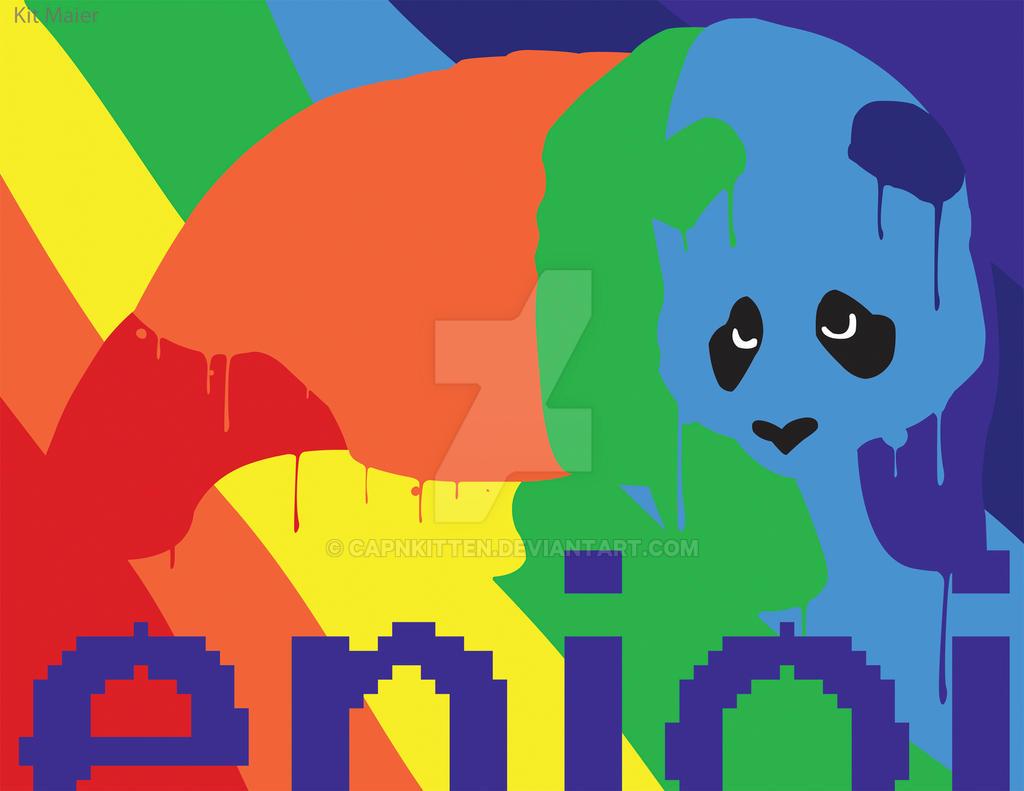 enjoi panda logo wallpaper the