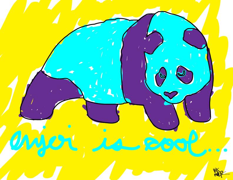 enjoi panda wallpaper submited images