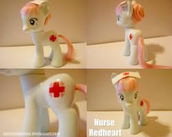 Nurse Redheart - Custom Pony by saucycustoms
