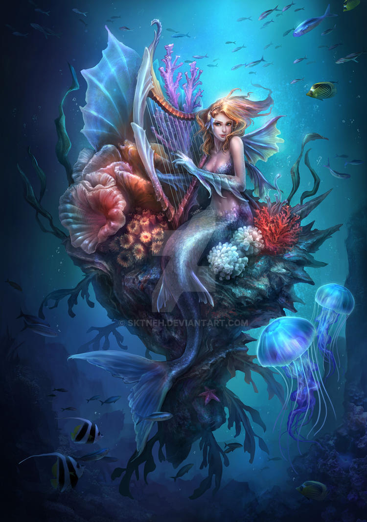 Mermaid by SKtneh