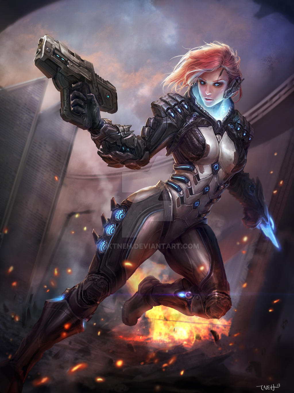 War Cyborg by SKtneh
