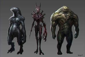 Alien sketch by SKtneh