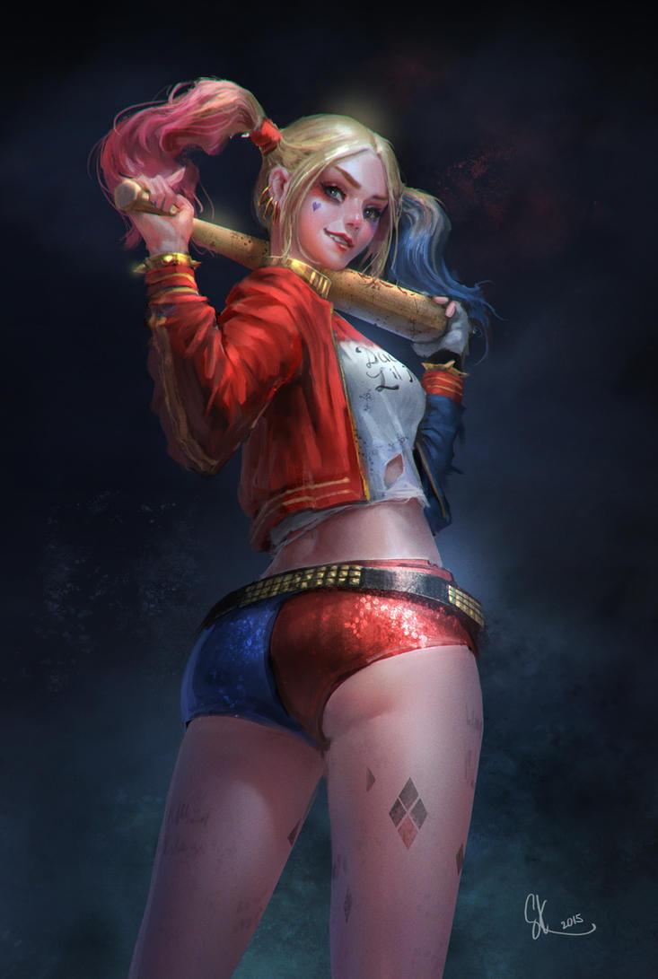 Harley quinn by SKtneh