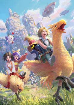Fan Art of Final Fantasy IX
