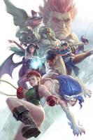 Street Fighter vs Darkstalkers Tribute by SKtneh