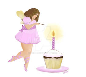 Commission- Cupcake Faerie