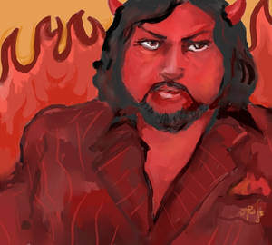 Big Rob as the Devil
