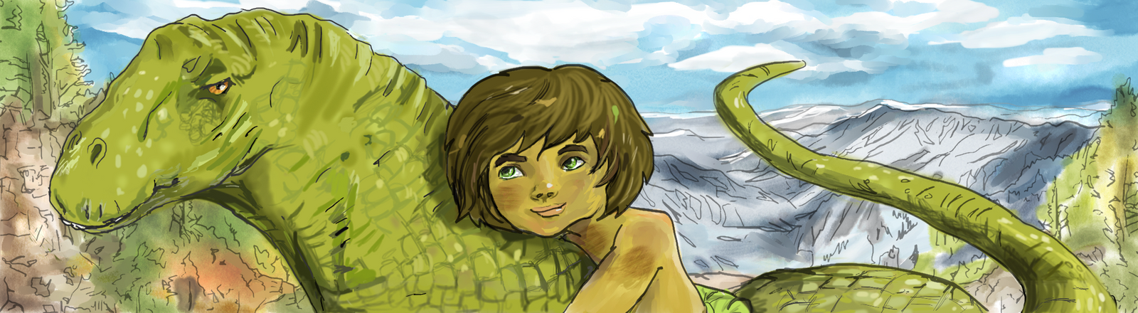 The Good Dinosaur Submission by Jodee
