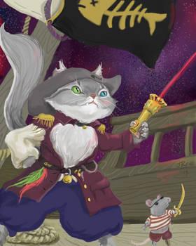 Cap'n Mewtalius Meward - Space Pirate