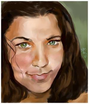 Tonya- Commission Painting