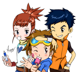 Digimon Tamers Manhua