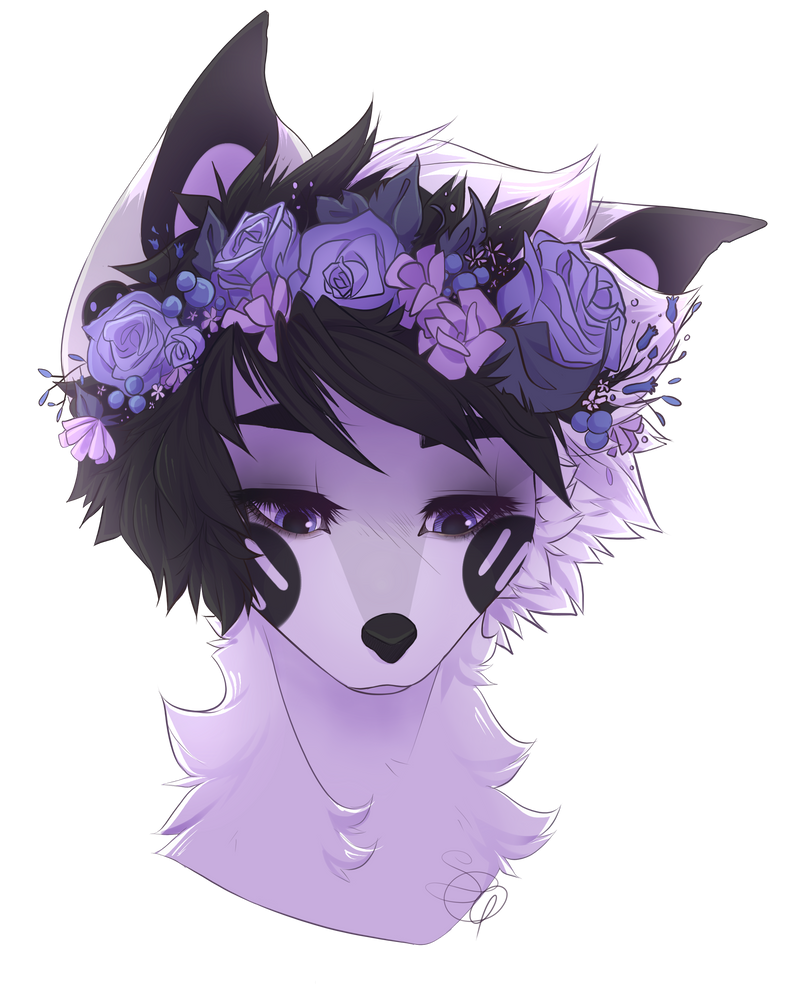 Flower crown doggo by sleepygrim on deviantart flower crown doggo by sleepygrim izmirmasajfo
