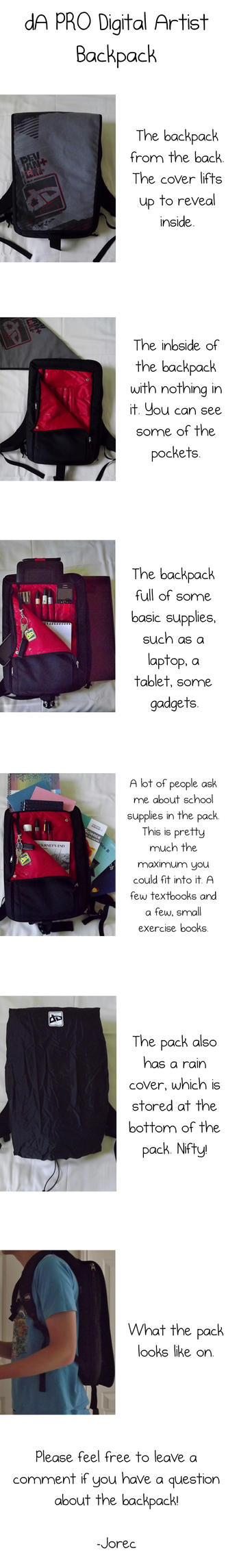 Digital Artist Backpack by Jorec