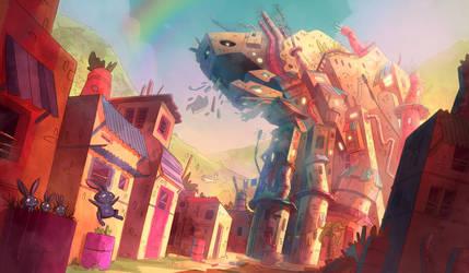 The Big Burp by Arkel88
