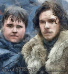 Jon Snow and Samwell Tarly