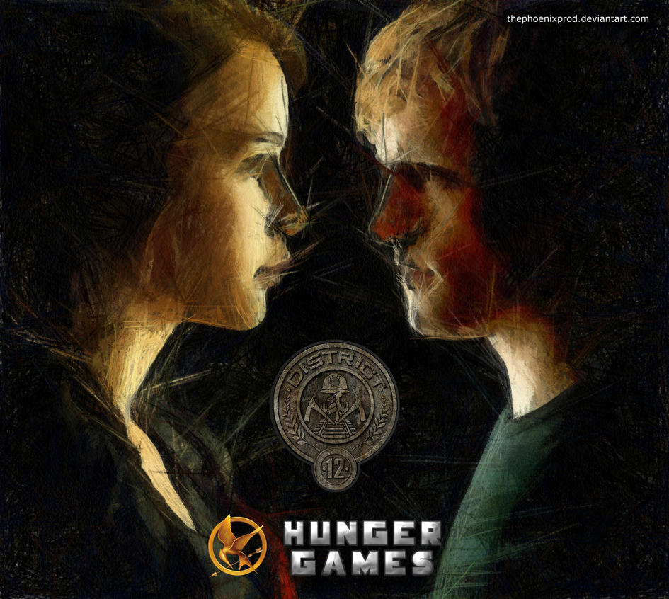 The Hunger Games - Katniss and Peeta by thephoenixprod