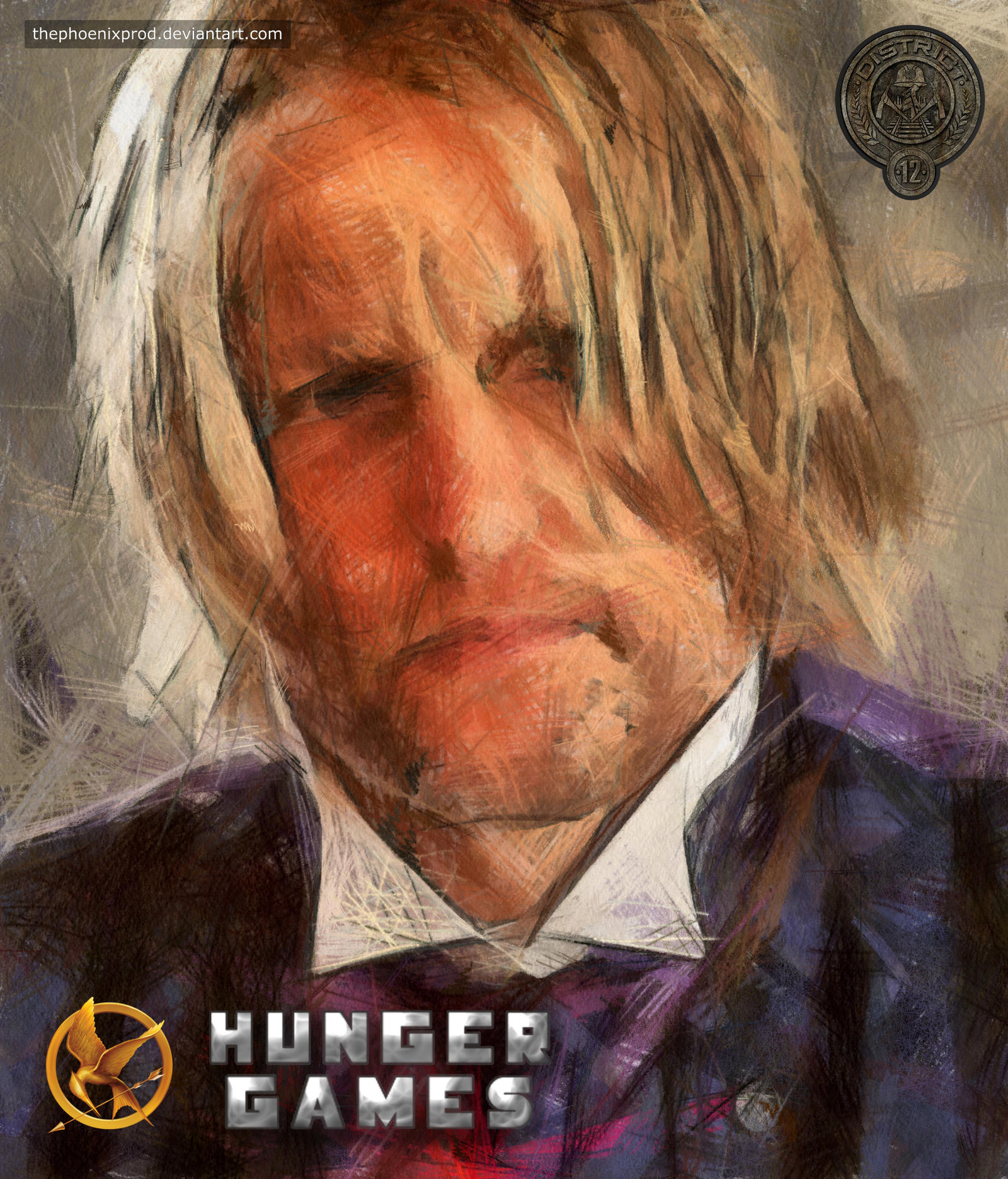 The Hunger Games - Haymitch Abernathy by thephoenixprod