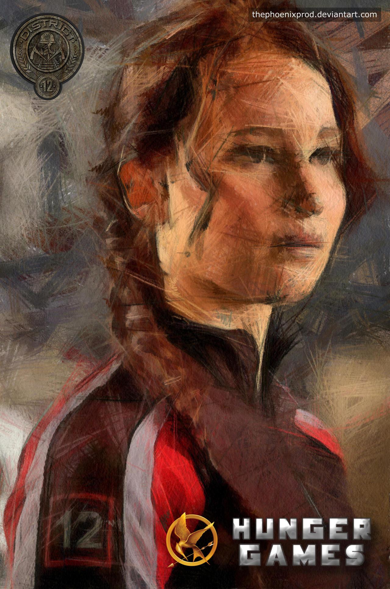 The Hunger Games - Katniss Everdeen by thephoenixprod