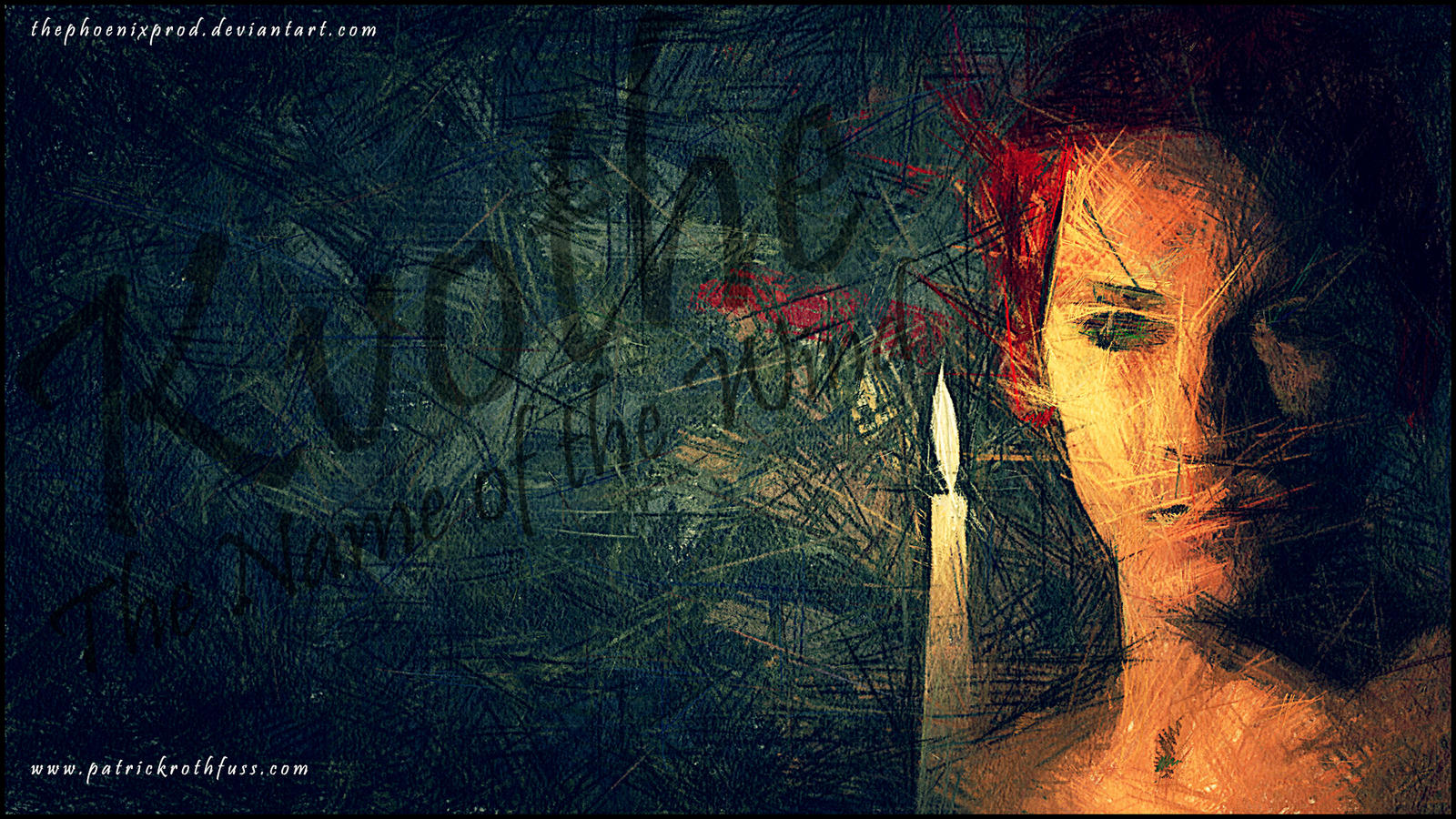 Kvothe The Name Of The Wind Wallpaper Blaze By