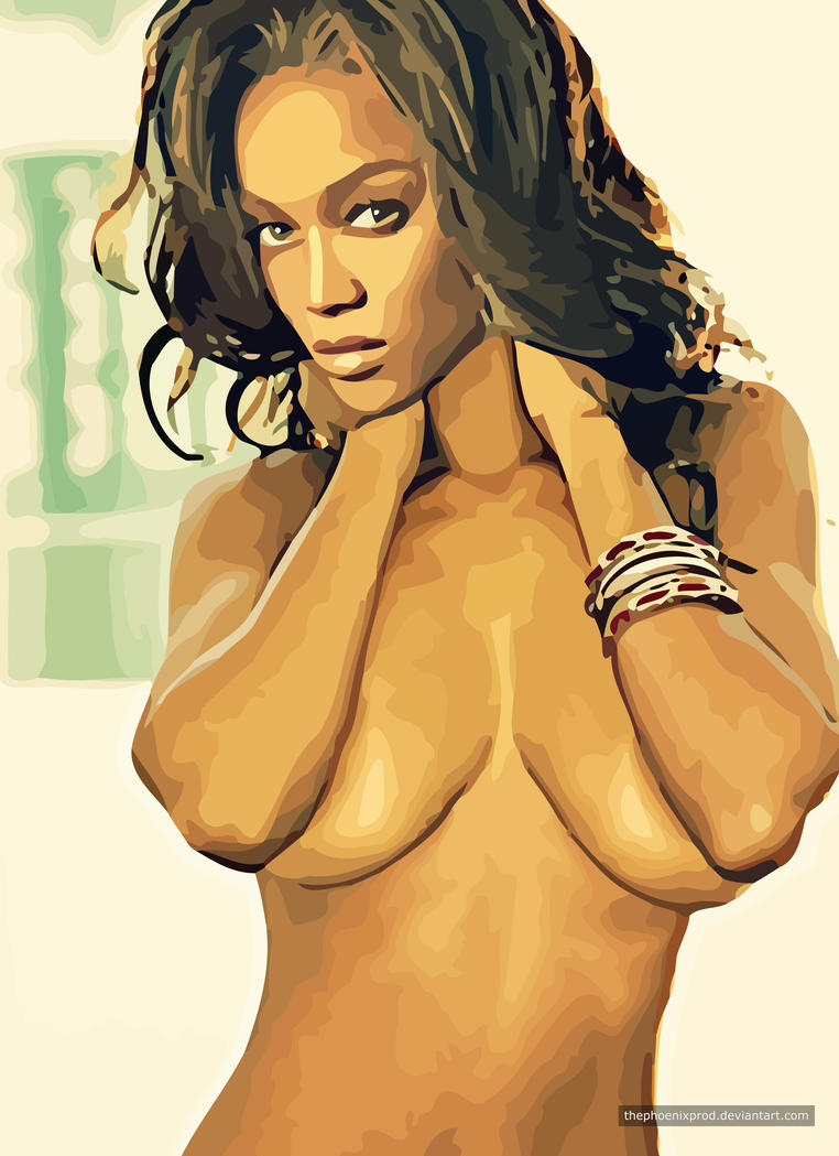Tyra Banks (Nude) (Fake) by thephoenixprod
