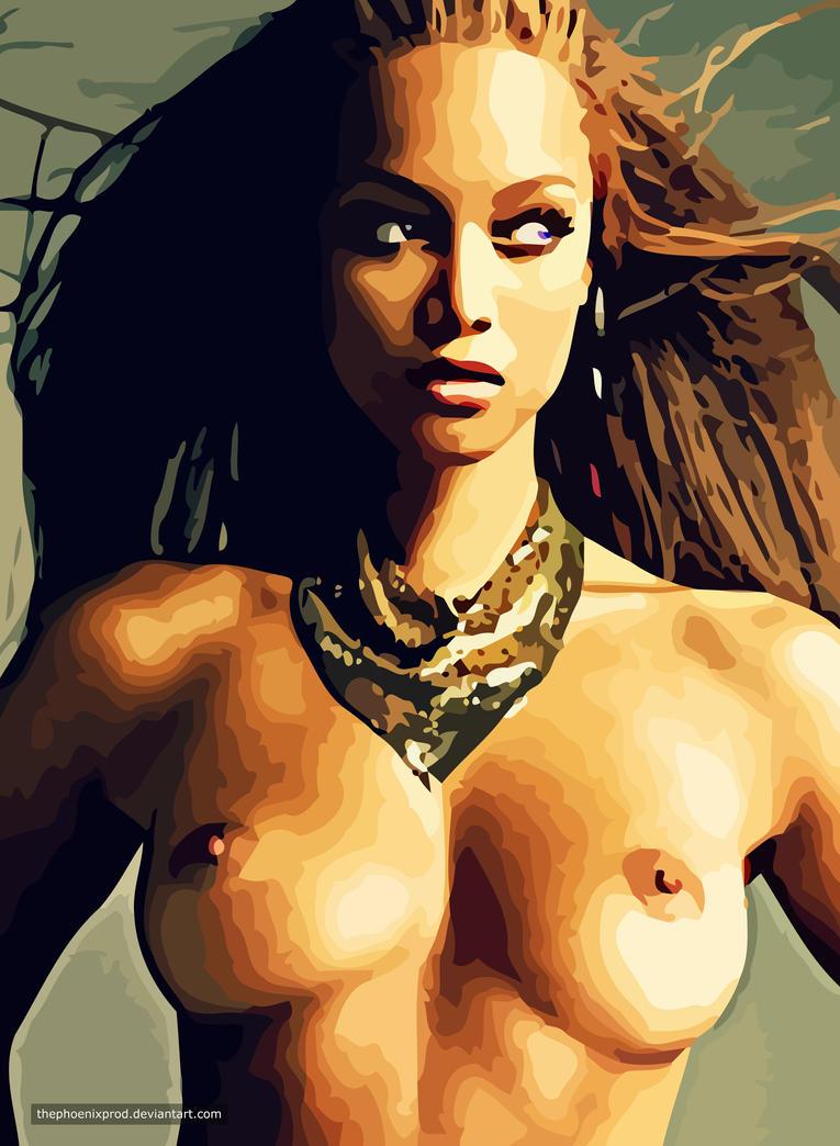 Tyra Banks (Nude) (Fake) by thephoenixprod