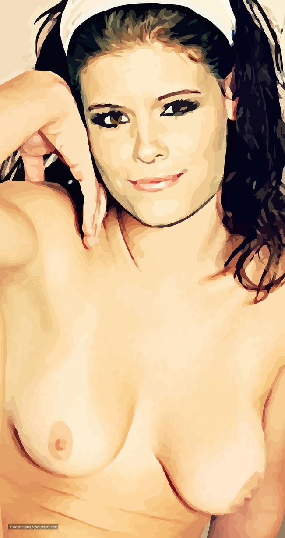Kate Mara (Nude) (Fake) by thephoenixprod