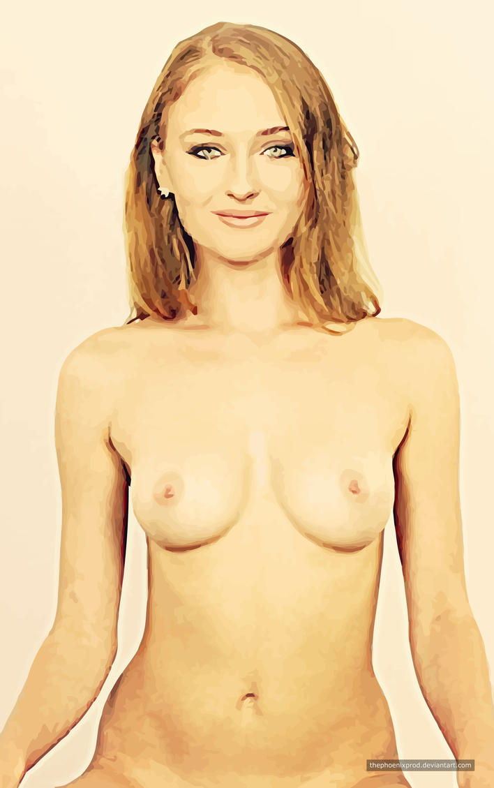 Sophie Turner (Nude) (Fake) by thephoenixprod
