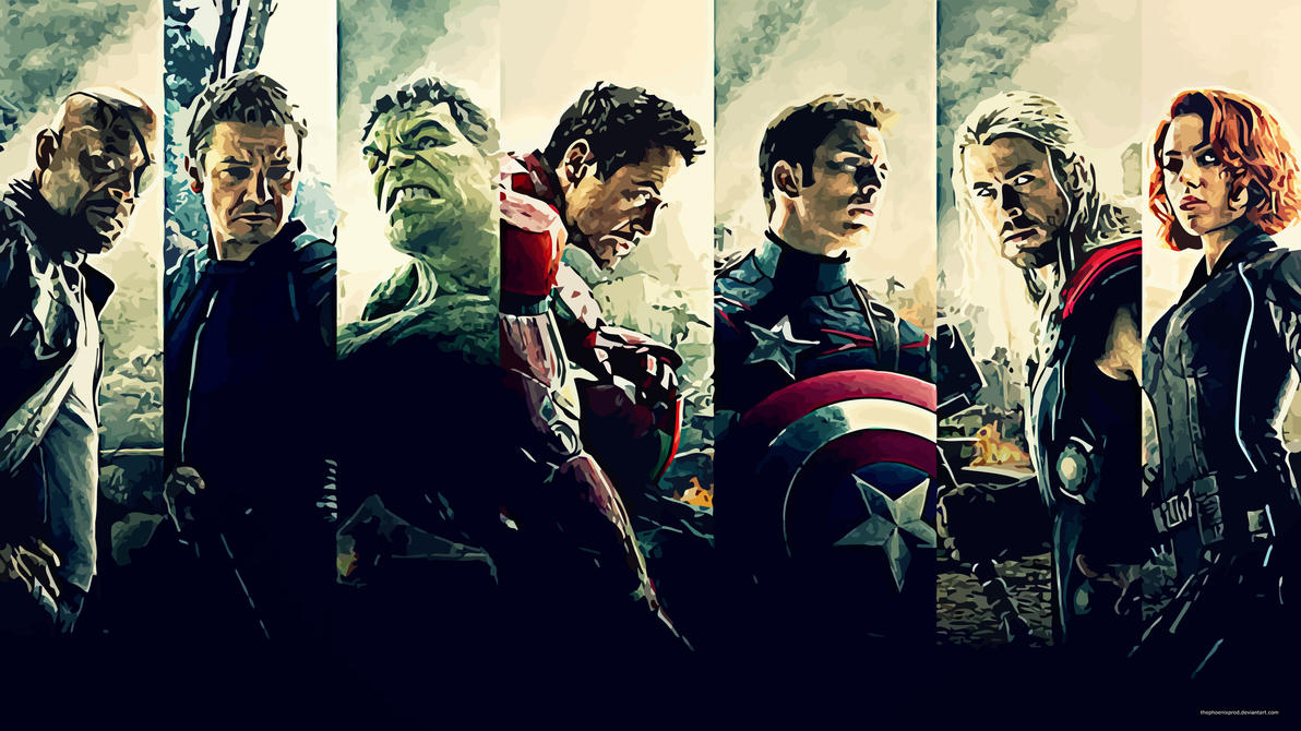 Avengers Age Of Ultron By Iloegbunam On Deviantart: Age Of Ultron By Thephoenixprod On DeviantArt