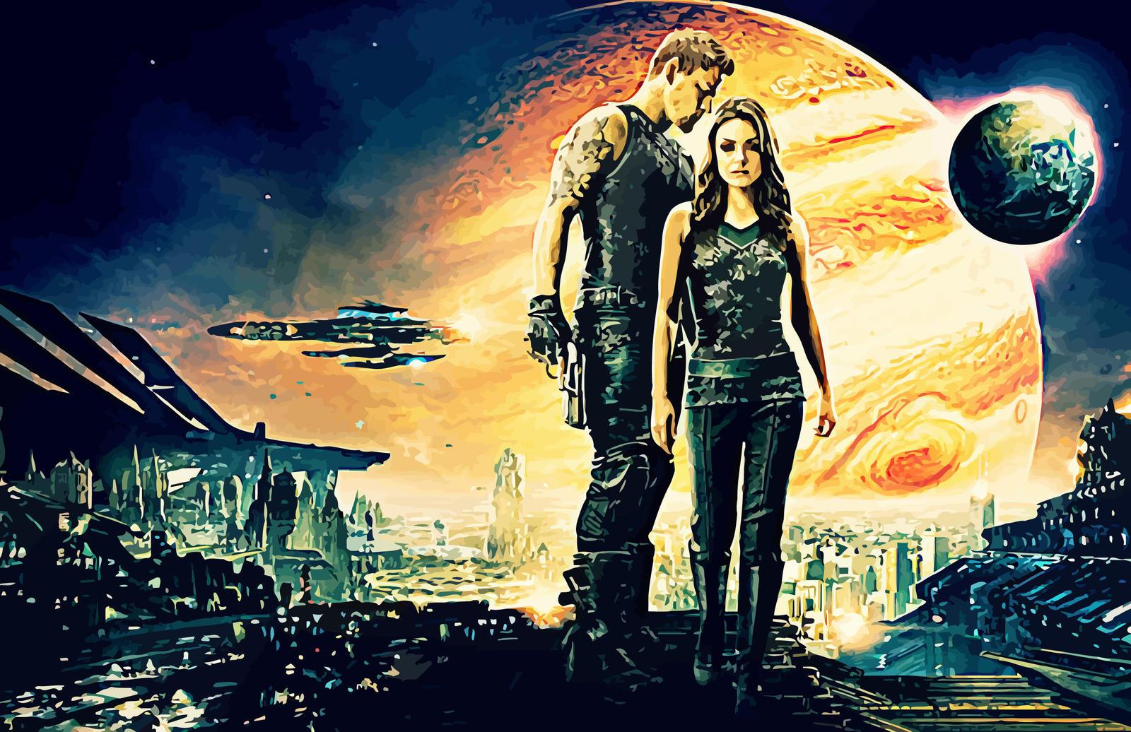 Jupiter Ascending Retina Movie Wallpaper: Jupiter Ascending By Thephoenixprod On DeviantArt