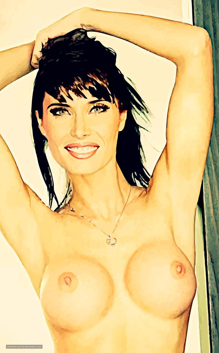 Pilar Rubio (Nude) (Fake) by thephoenixprod