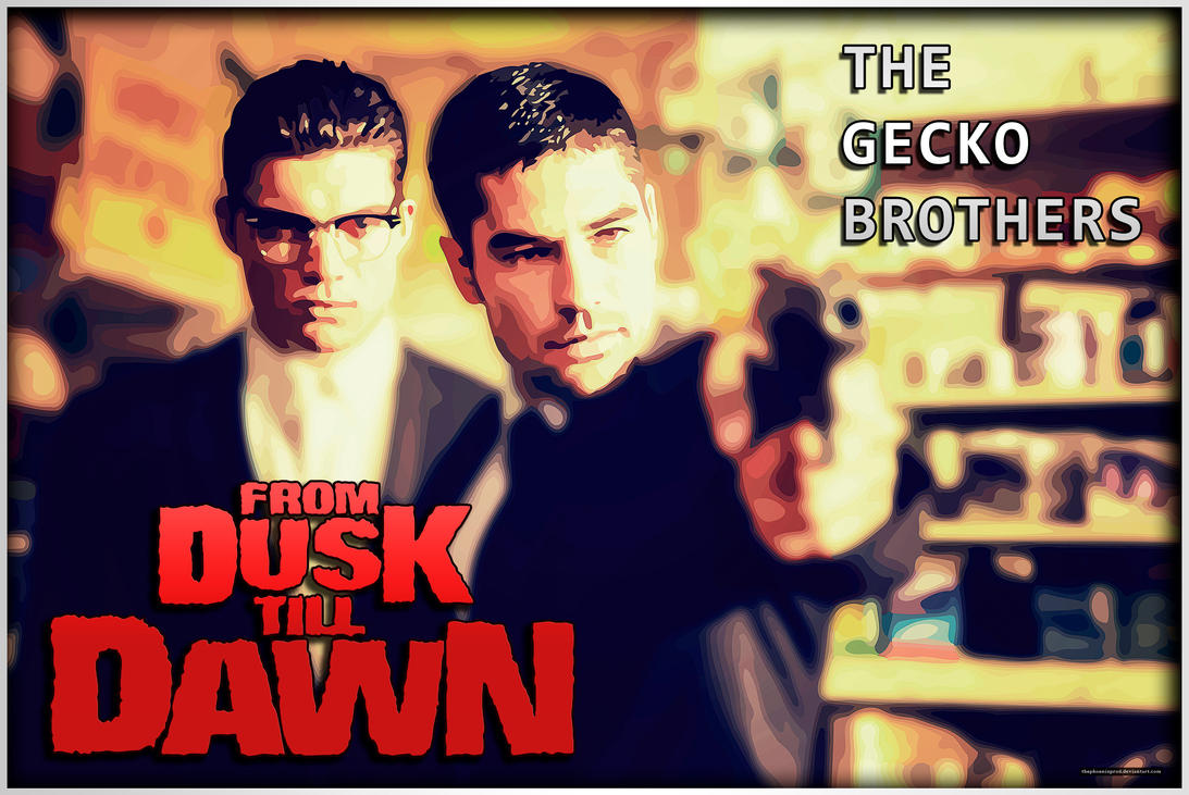 The Gecko Brothers (Wallpaper) by thephoenixprod