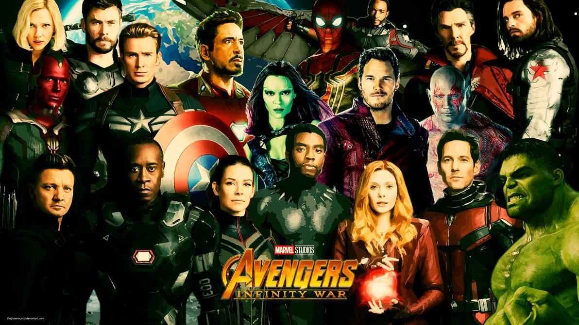 Avengers 4k Hd Wallpaper With Logo By Thephoenixprod On Deviantart
