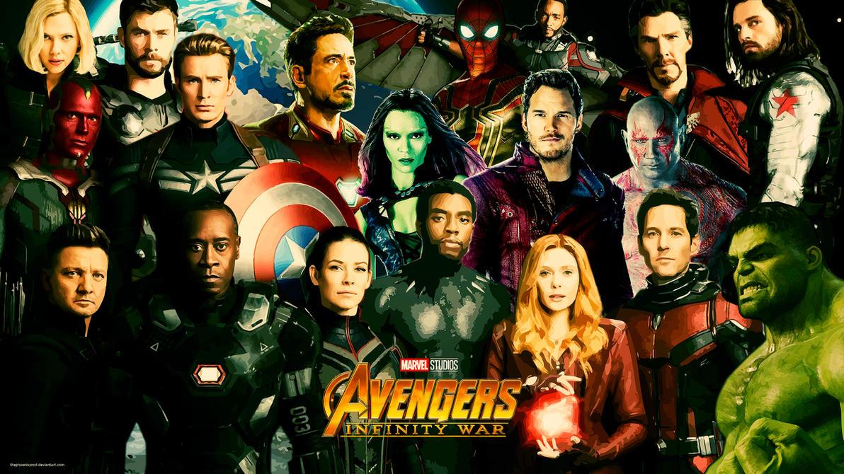 Avengers 4k hd wallpaper with logo by thephoenixprod - Avengers a logo 4k ...