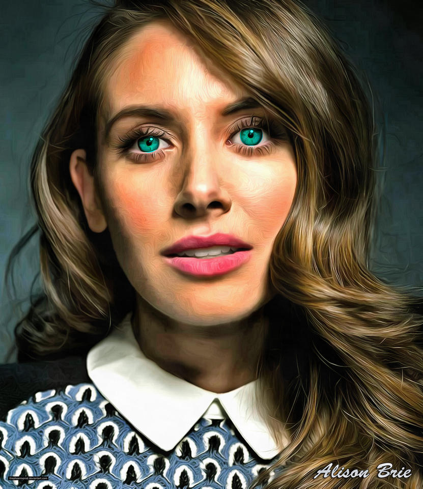 Alison Brie (Glamour) by thephoenixprod