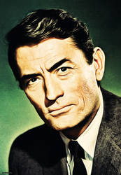 Gregory Peck by thephoenixprod