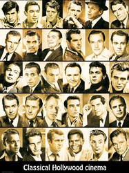Classical Hollywood cinema (Actors) by thephoenixprod